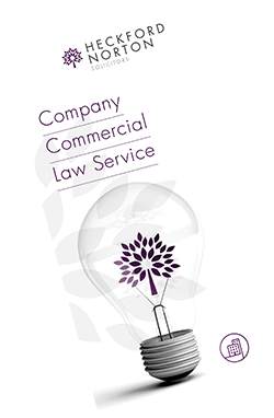 Company commercial Law leaflet